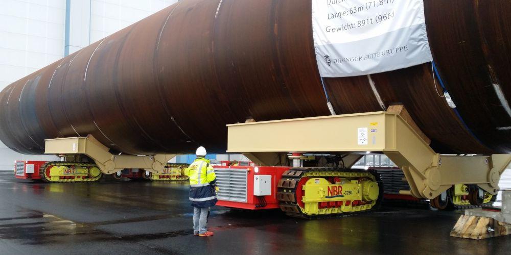 Move heavy loads safely thanks to ADDINOL hydraulic oil HVLP 46