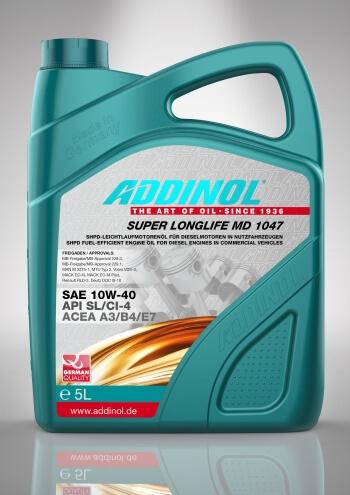 Engine oil Addinol Longlife 10w40 MD 1047