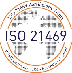 ISO 21469 Zertifikat