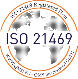 ISO 21469 certification