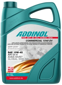 ADDINOL COMMERCIAL 1040-E4