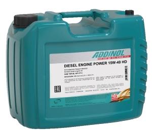 ADDINOL DIESEL ENGINE POWER 15W-40 HD