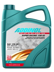 ADDINOL SUPER RACING 10W-60