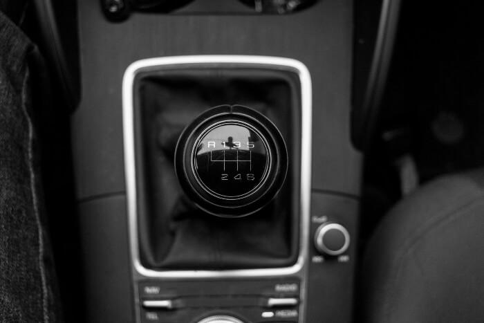 Schaltgetriebe in einem Audi