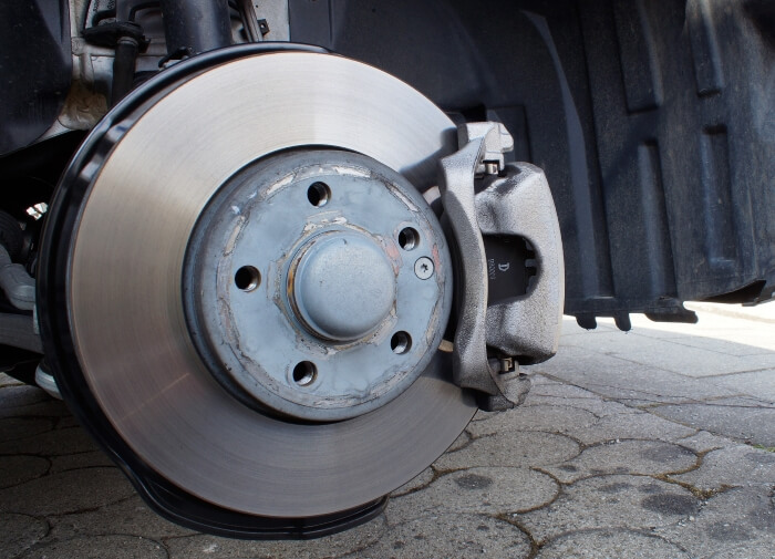 Brake disk of a passenger car