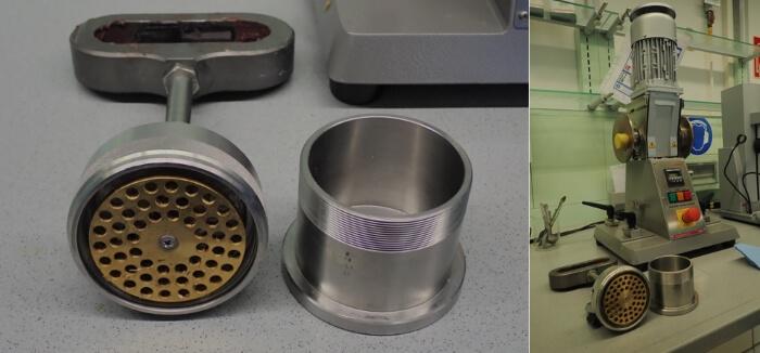 Fettkneter mit passender Maschine für Walkpenetration