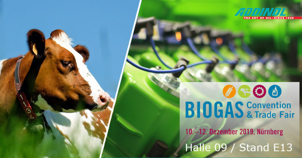 Ankündigung  Messebeteiligung Biogas Convention Nürnberg