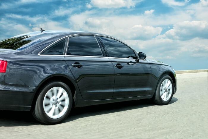 Audi auf der Straße