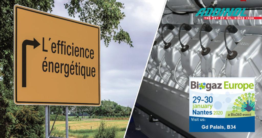 Ankündigung Messebeteiligung Biogaz Europe in Nantes, Frankreich