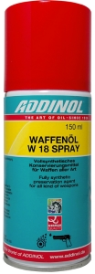 Waffenöl Weapon oil ADDINOL W 18