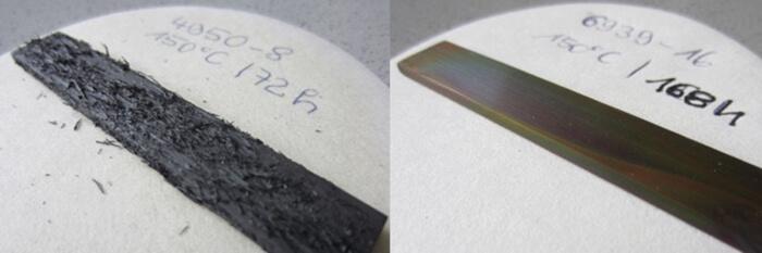 Copper sulphide test with ADDINOL ETF technology