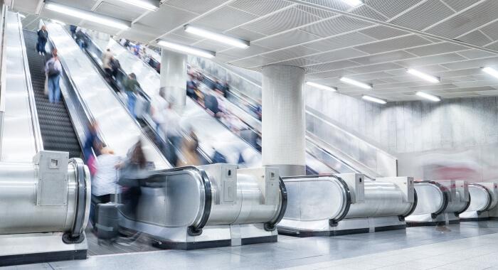 Rolltreppe mit ADDINOL Schmierstoffen